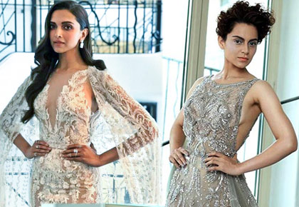 Latest News from India - Get Ahead - Careers, Health and Fitness, Personal Finance Headlines - Kangana or Deepika: Who rocked the sheer look?
