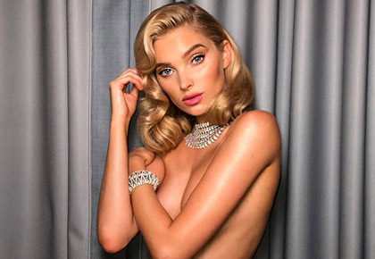 Latest News from India - Get Ahead - Careers, Health and Fitness, Personal Finance Headlines - When Elsa Hosk posed in nothing but diamonds