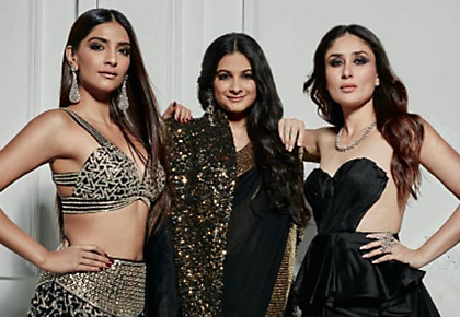 Latest News from India - Get Ahead - Careers, Health and Fitness, Personal Finance Headlines - Dark, dramatic and sexy! The Kapoor girls steal the show
