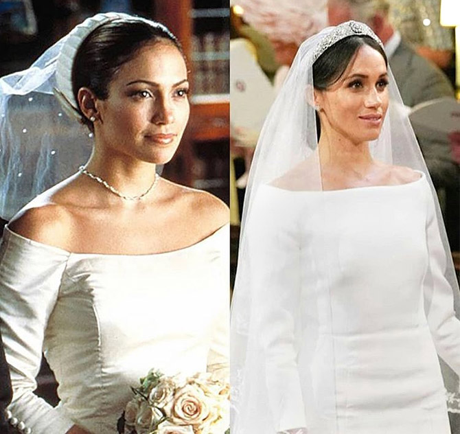 Latest News from India - Get Ahead - Careers, Health and Fitness, Personal Finance Headlines - Was Meghan's bridal look inspired by Jennifer Lopez?
