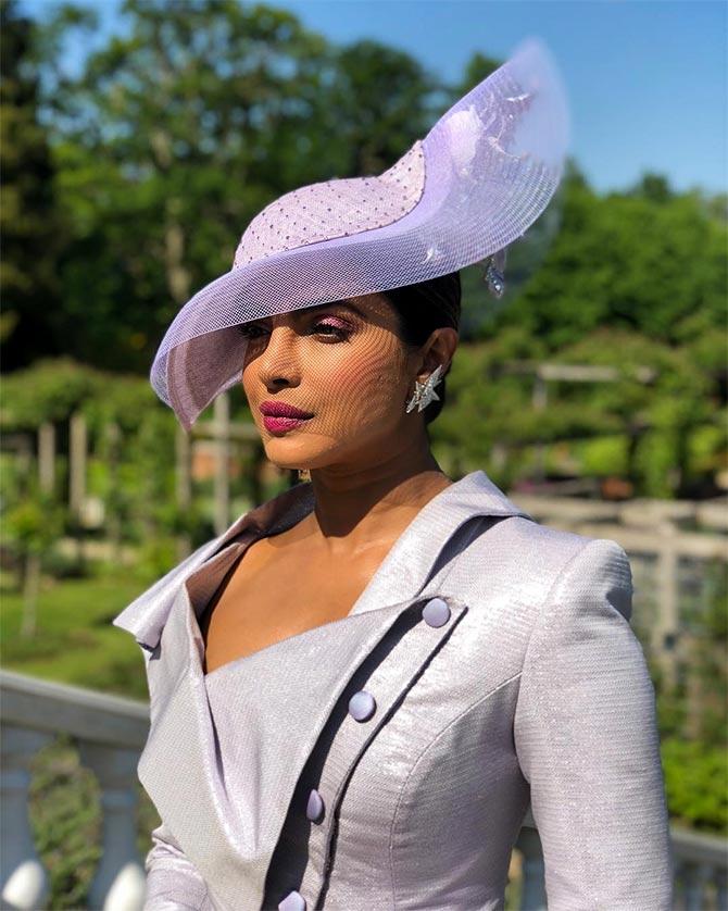 Should Priyanka have worn a sari to the royal wedding  - Rediff.com Get  Ahead b4505f033a7a