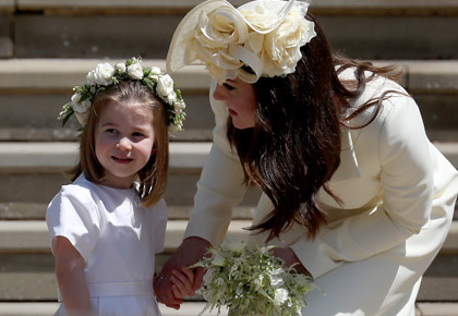 Latest News from India - Get Ahead - Careers, Health and Fitness, Personal Finance Headlines - Pix: The cutest attendees at Harry and Meghan's royal wedding