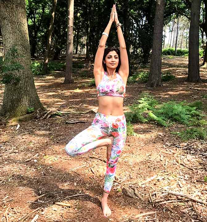 How yoga changed Shilpa Shetty's life - Rediff com Get Ahead