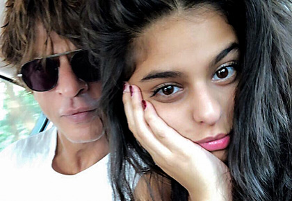 Suhana is dusky, but beautiful, says SRK
