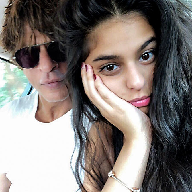 Shah Rukh khan tells daughter to 'kick a guy' if he behaves like Raj or Rahul