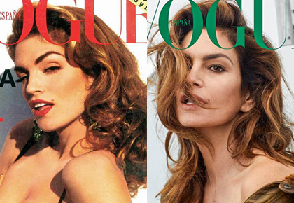 Latest News from India - Get Ahead - Careers, Health and Fitness, Personal Finance Headlines - A trip down memory lane: Supermodel Cindy Crawford then and now