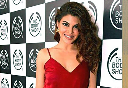 Latest News from India - Get Ahead - Careers, Health and Fitness, Personal Finance Headlines - Lady in red! Jacqueline channels old Hollywood glam