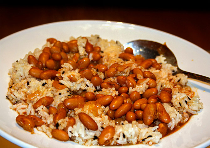 'The all-time Punjabi favourite Rajma Chawal is too good to refuse'