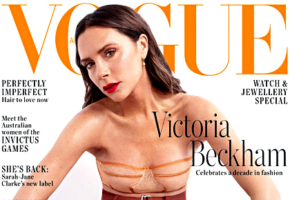 Latest News from India - Get Ahead - Careers, Health and Fitness, Personal Finance Headlines - OMG! Is Victoria Beckham posing topless?