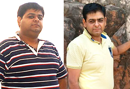 Latest News from India - Get Ahead - Careers, Health and Fitness, Personal Finance Headlines - The simple secret how he went from 124 kg to 92 kg