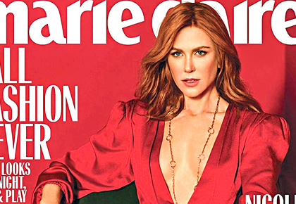 Latest News from India - Get Ahead - Careers, Health and Fitness, Personal Finance Headlines - Nicole Kidman's racy cover will make you blush
