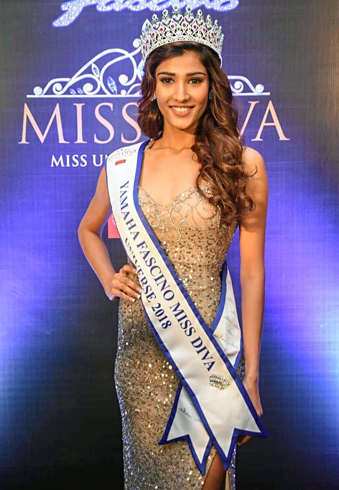 This gorgeous woman will represent India at Miss Universe