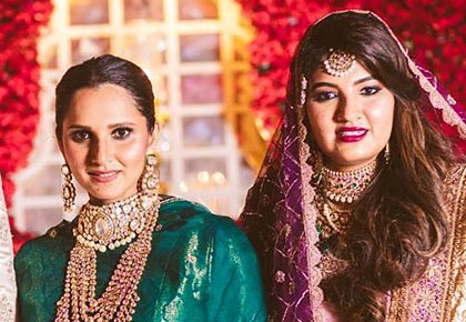 INSIDE! Why Sania is the most stylish sister ever