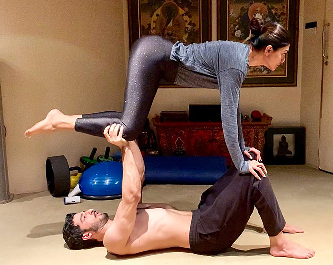c0546a62d55f0 These couples will make you fall in love with fitness - Rediff.com Get Ahead