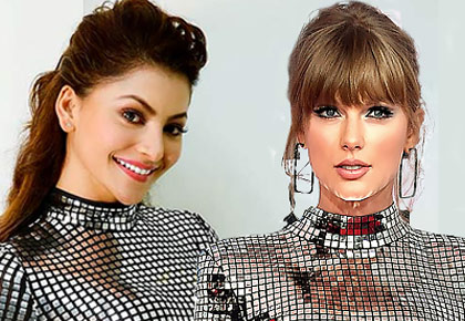 When Urvashi was shamed for copying Taylor Swift