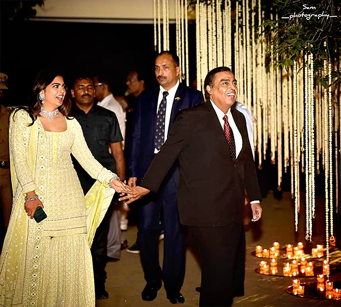 PIX: Inside Akash Ambani's pre-wedding celebrations - Rediff com Get