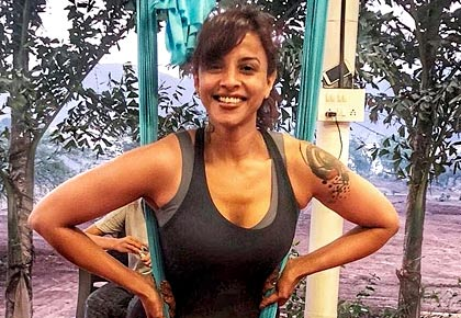 The secret behind Manasi Scott's crazy toned abs