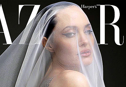 Angelina Jolie bares all for mag cover