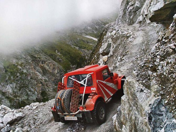 Adventure in a Mahindra Thar