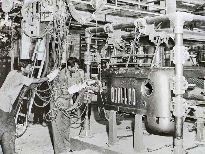 Mahindra automotive plant