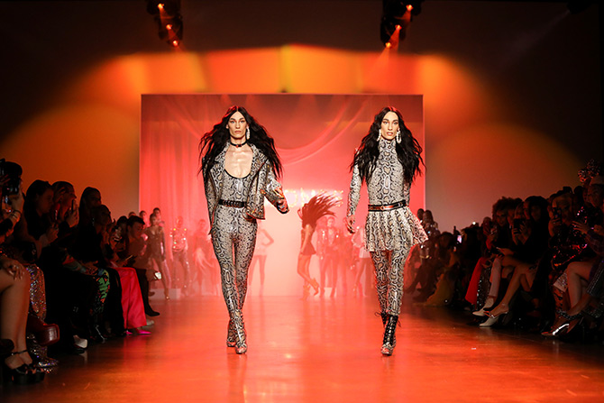 nyfw  glitz and glamour rule the ramp