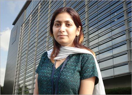 Deepa Raisinghani, 22, BPO agent