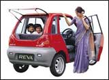 Reva: India's first electric car
