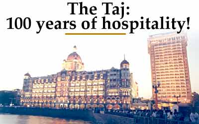 Exactly A Century Ago Jamshetji Nusserwanji Tata S Dream Was Concretised When The Taj Group First Hotel Mahal Palace Tower Mumbai