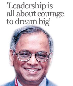 narayana murthy as a leader