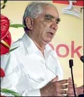 Finance Minister Jaswant Singh. Photo: Jewella C Miranda