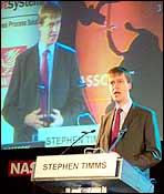 Stephen Timms UK's minister for e-commerce