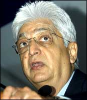 Wipro chief Azim Premji. Photo: AFP/Getty Images