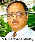 Infosys chief N R Narayana Murthy
