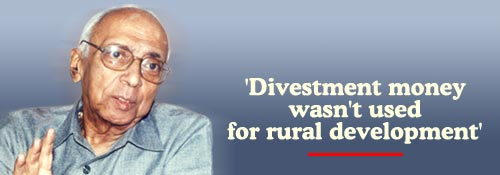 G V Ramakrishna, former Chairman, Divestment Commission. Photo: Sreeram Selvaraj