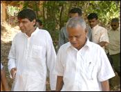 Suresh Prabhu campaigning