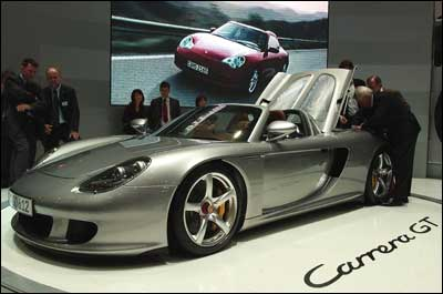 The Porsche Carrera. Photo: Giuseppe Cacace/Getty Images