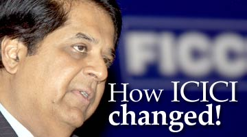 K V Kamath, ICICI Bank MD and CEO. Photo: AFP/Getty Images