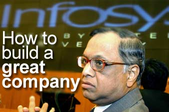 Infosys Chairman N R Naryana Murthy. Photo: AFP/Getty Images