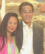 Banyan Tree group founder Ho Kwon Ping with wife Claire Chiang.