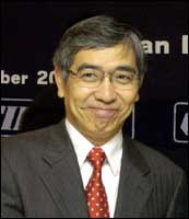 ADB President Haruhiko Kuroda. Photo: Manan Vatsyayana/AFP/Getty Images