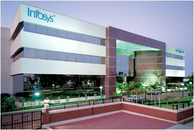 The Corporate Block at Infosys' Bangalore development centre houses 8 conference rooms for the use of customers. The ground floor has a large conference room with the capacity to seat a 100 people, and the largest video wall in Asia. It also houses an experience theatre, which explains the history of software, talks about the Infosys story and what customers think about working with Infosys.