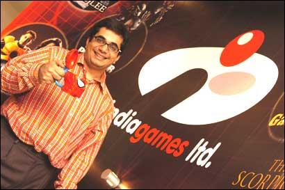 Vishal Gondal, CEO, Indiagames. Photograph: Indiagames