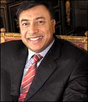 L N Mittal. Photograph courtesy: Star World
