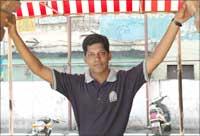 Sarathbabau. Photograph: Sreeram Selvaraj