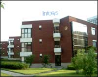 Infosys campus in Shanghai. Photograph courtesy: Infosys
