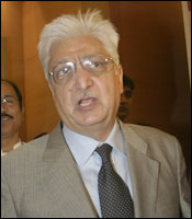 Wipro chairman Azim Premji. Photograph: Jewella C Miranda