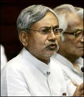 Bihar Chief Minister Nitish Kumar. Photo: AFP/Getty Images