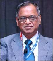 N R Narayana Murthy, Chairman, Infosys