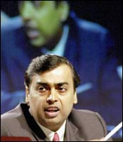 Mukesh AMbani: Photograph: AFP/Getty Images
