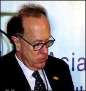 Stephen Roach, MD, Morgan Stanley. Photograph: Moneycontrol.com